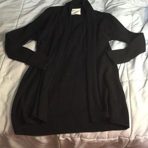 Black loft cardigan - size medium